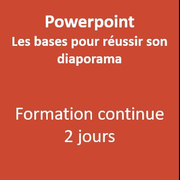Formation PowerPoint Morbihan Vannes 56