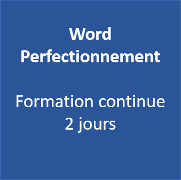 Formation Word Perfectionnement Morbihan Vannes 56