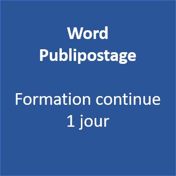 Formation Word Publipostage Morbihan Vannes 56